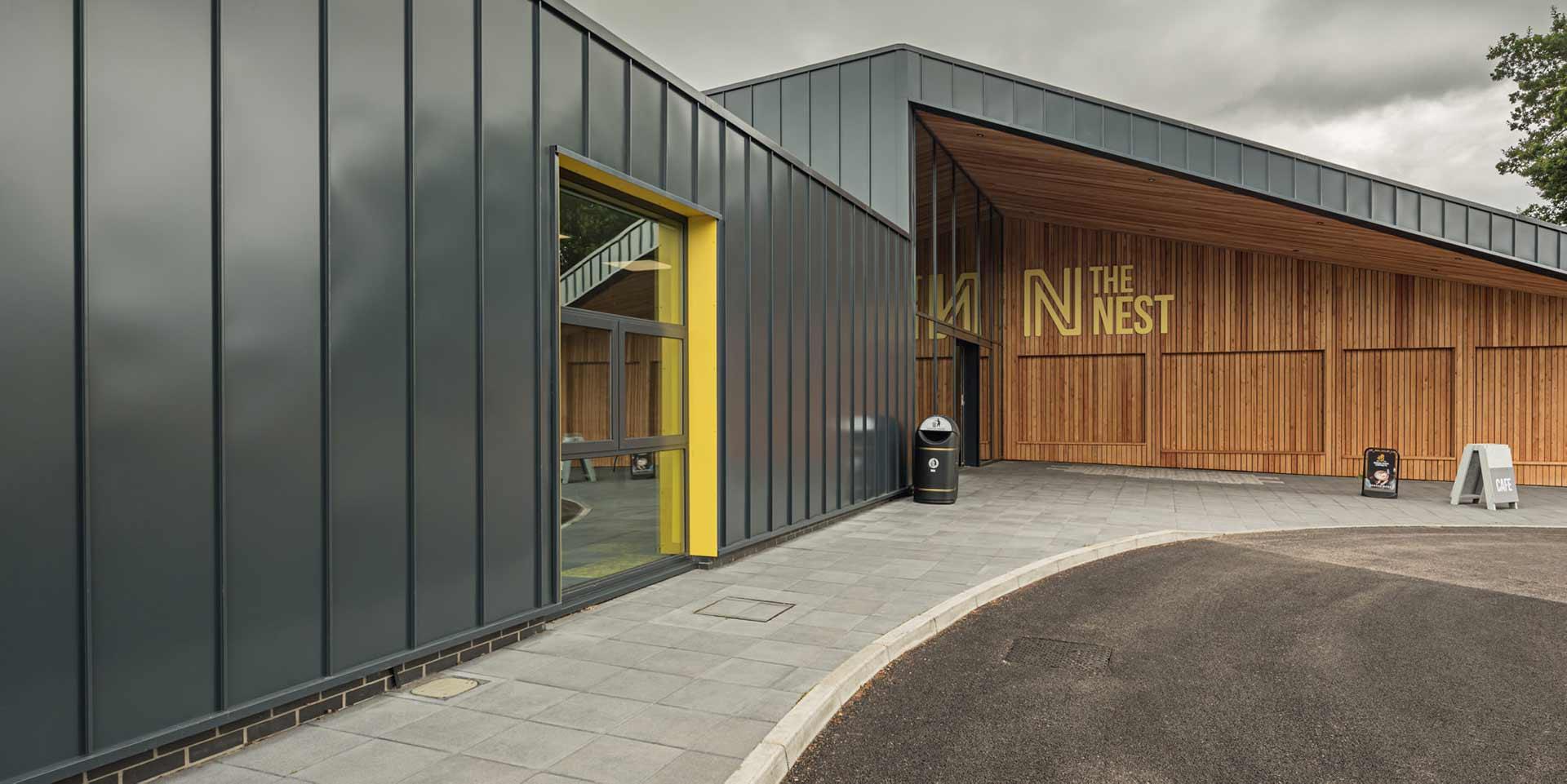 The Nest hub main entrance