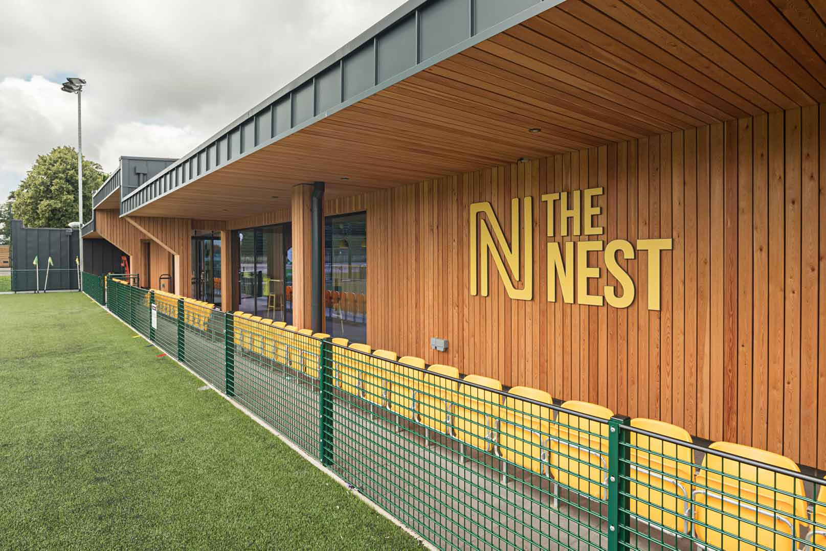 The Nest logo taken from the 3G pitch